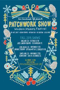 Patchwork Show Fall via (dearhandmadelife.com)